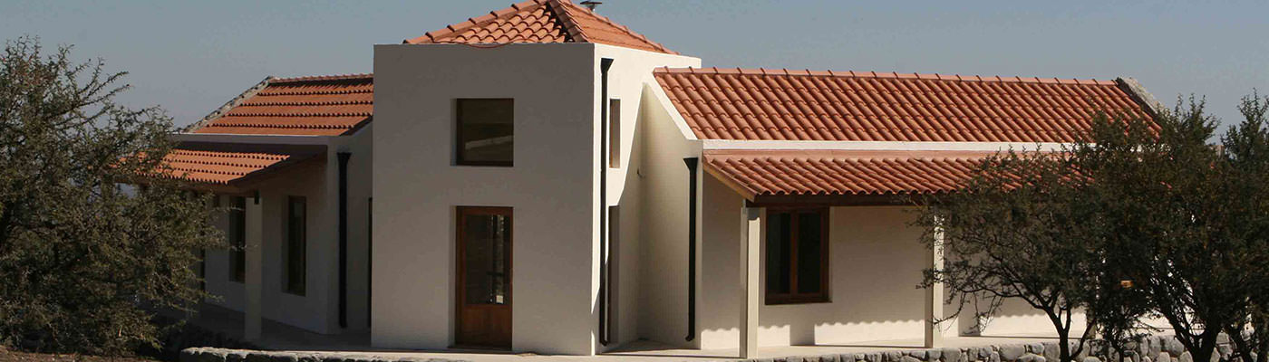 Casa Parque y Piscina. Vista Panorámica