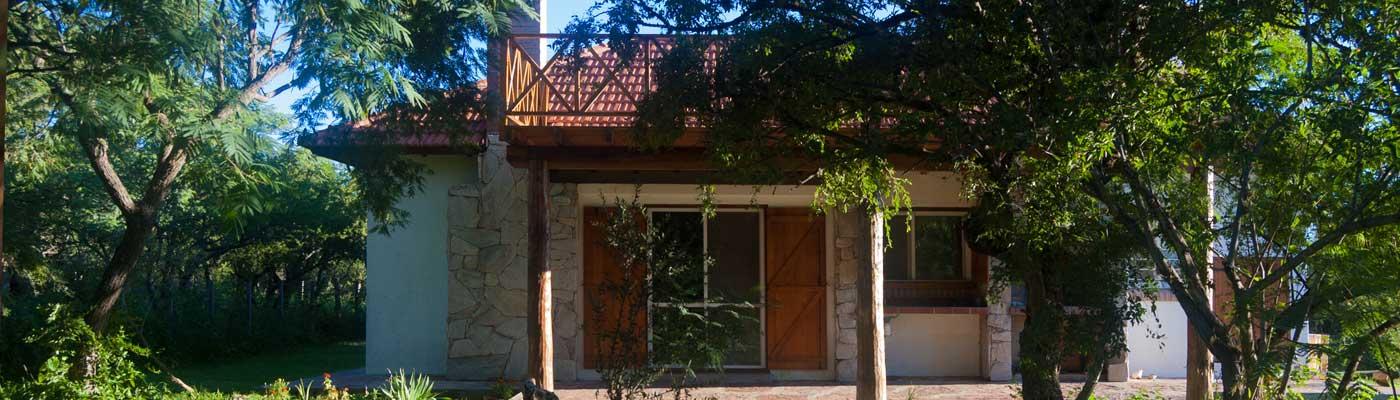 Casa y parque en Sierras de Carpintería Merlo San luis